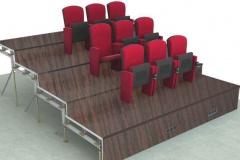 Konzertsaal-Iran-Mall-Teheran-Bestuhlung-auf-Podest
