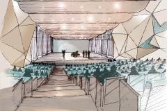 Konzertsaal-Iran-Mall-Teheran-Skizze-1