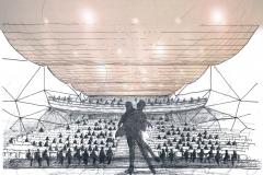 Konzertsaal-Iran-Mall-Teheran-Skizze-2