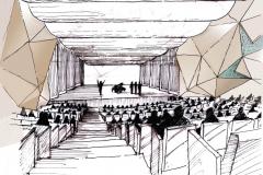 Konzertsaal-Iran-Mall-Teheran-Skizze-3
